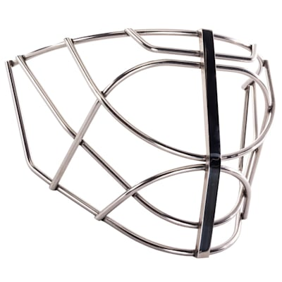 Chrome (SportMask Non-Certified Flatbar Cat Eye Cage)