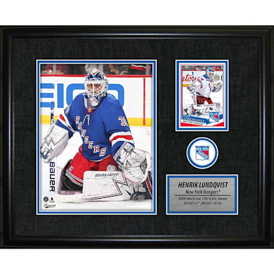 (Frameworth New York Rangers Photocard Frame - Henrik Lunqvist)