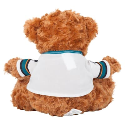 (San Jose Sharks 10 Inch Bear Team Jersey)