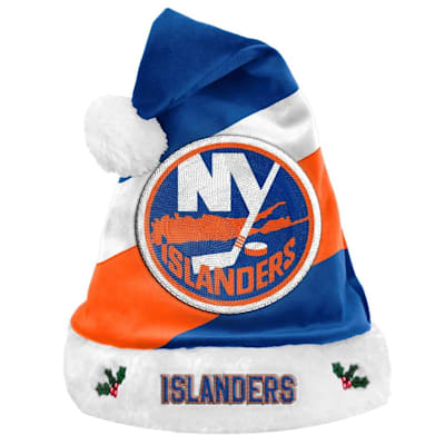 (New York Islanders Holiday Santa Hat)