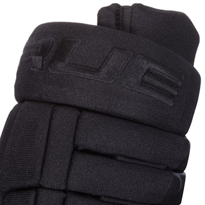 (TRUE A Series Black Hockey Gloves - Junior)