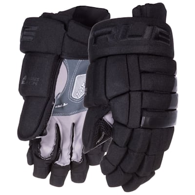 (TRUE A Series Black Hockey Gloves - Senior)
