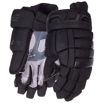 (TRUE A Series Black Hockey Gloves - Senior)