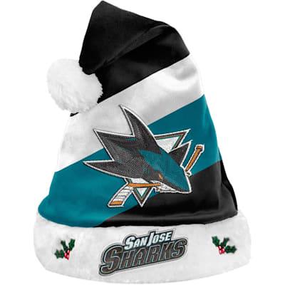(San Jose Sharks Holiday Santa Hat)