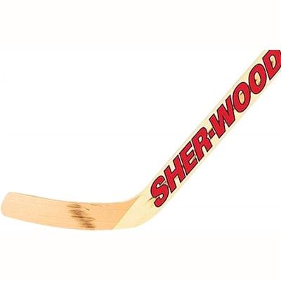 Intermediate (Sher-Wood 530 Wood Goalie Stick - Intermediate)