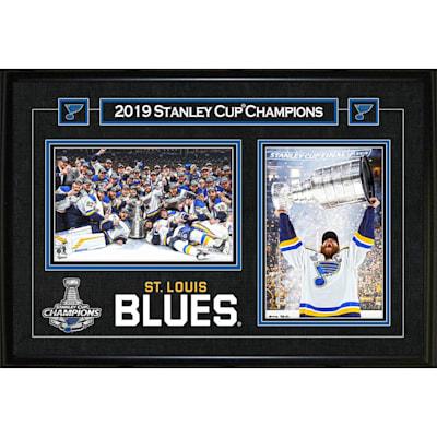(St. Louis Blues Stanley Cup Double Photo)