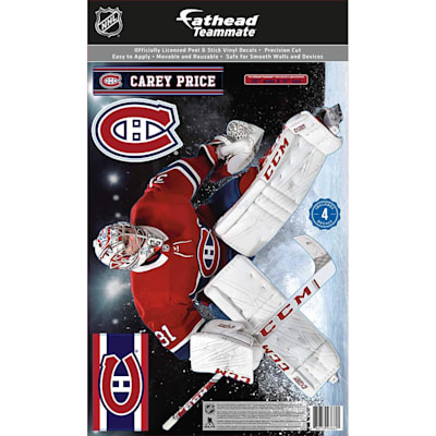 (Fathead NHL Teammate Carey Price Montreal Canadians Wall Decal)