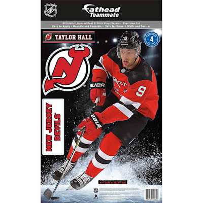 (Fathead NHL Teammate New Jersey Devils Taylor Hall Wall Decal)