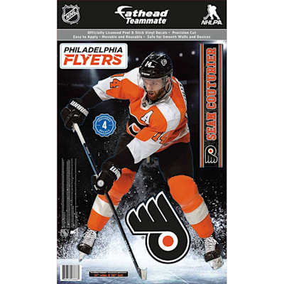 (Fathead NHL Teammate Philadelphia Flyers Sean Couturier Wall Decal)