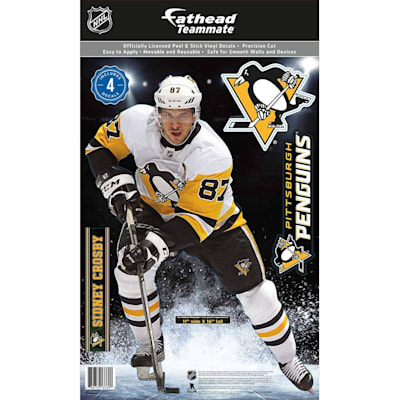 (Fathead NHL Teammate Pittsburgh Penguins Sidney Crosby Wall Decal)