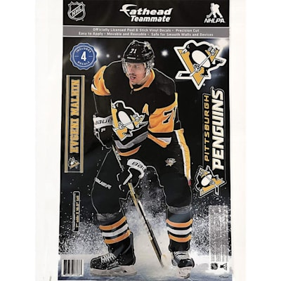 (Fathead NHL Teammate Pittsburgh Penguins Evgeni Malkin Wall Decal)
