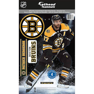 (Fathead NHL Teammate Boston Bruins Patrice Bergeron Wall Decal)