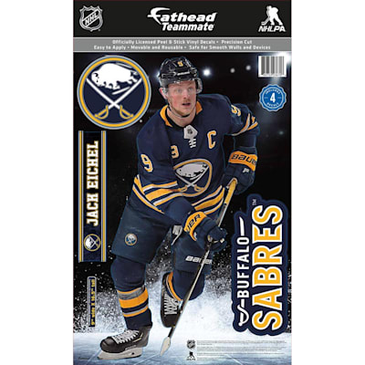 (Fathead NHL Teammate Buffalo Sabres Jack Eichel Wall Decal)
