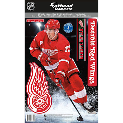 (Fathead NHL Teammate Detroit Red Wings Dylan Larkin Wall Decal)