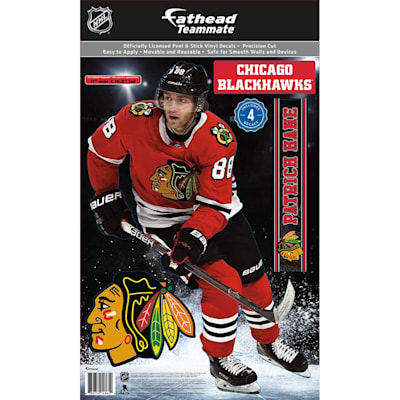 (Fathead NHL Teammate Chicago Blackhawks Patrick Kane Wall Decal)