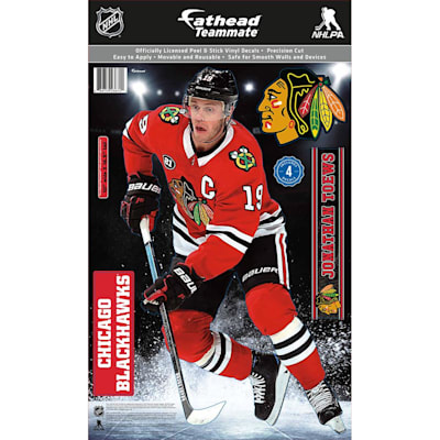 (Fathead NHL Teammate Chicago Blackhawks Johnathan Towes  Wall Decal)