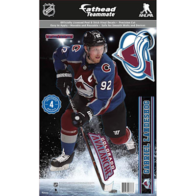 (Fathead NHL Teammate Colorado Avalanche Gabriel Landeskog Wall Decal)