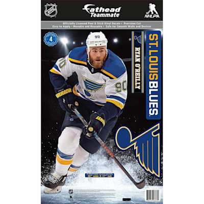 (Fathead NHL Teammate St. Louis Blue Ryan O'Reilly Wall Decal)