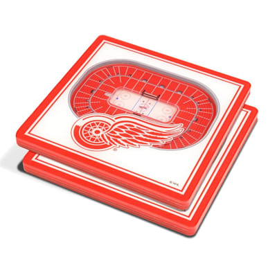 (YouTheFan Detroit Red Wings 3D Stadium View Coaster)
