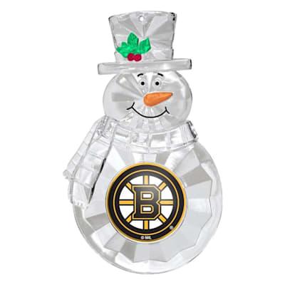 (Snowman Ornament Boston Bruins)