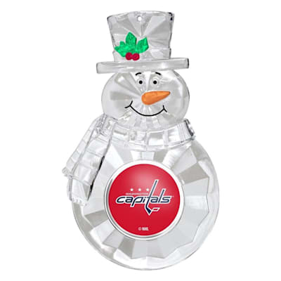 (Snowman Ornament Washington Capitals)