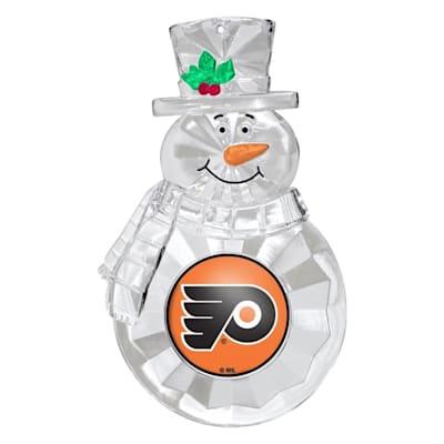 (Snowman Ornament Philadelphia Flyers)