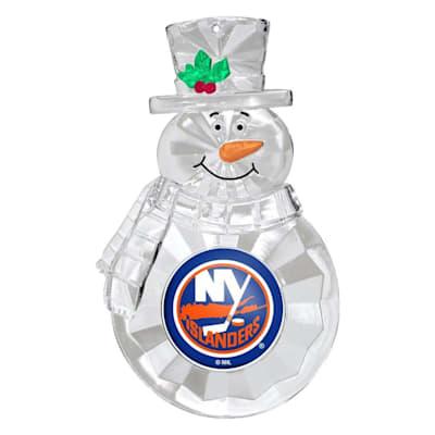 (Snowman Ornament New York Islanders)
