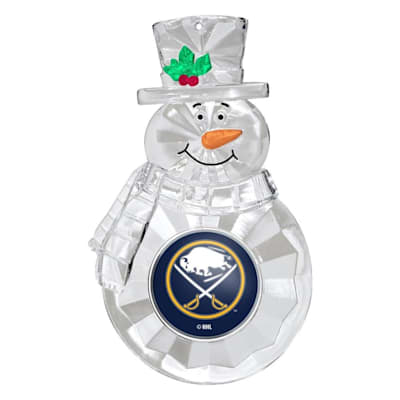 (Snowman Ornament Buffalo Sabres)