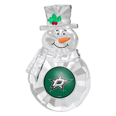 (Snowman Ornament Dallas Stars)