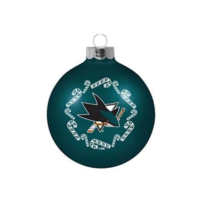 (NHL Small Ball Ornament - San Jose Sharks)