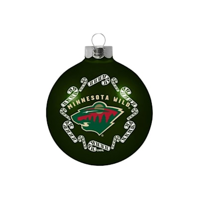 (NHL Small Ball Ornament - Minnesota Wild)
