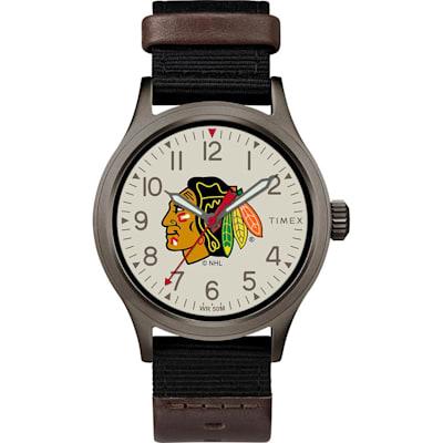 (Chicago Blackhawks Timex Clutch Watch - Adult)