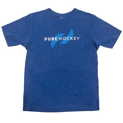 Front (Pure Hockey Classic Royal Tee - Youth)