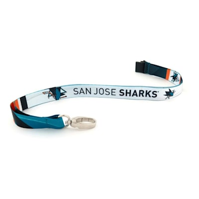 (San Jose Sharks Sublimated Lanyard)