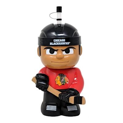 (Big Sip 3D Water Bottle - Chicago Blackhawks)