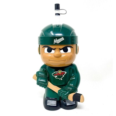 (Big Sip 3D Water Bottle - Minnesota Wild)