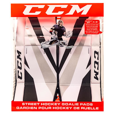 (CCM Fleury Street Hockey Goalie Leg Pads 26 Inch - Intermediate)