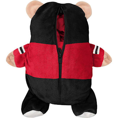 (Adidas Chicago Blackhawks Hoodie And Plush Animal - Infant)