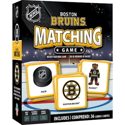 (MasterPieces Matching Game- Boston Bruins)