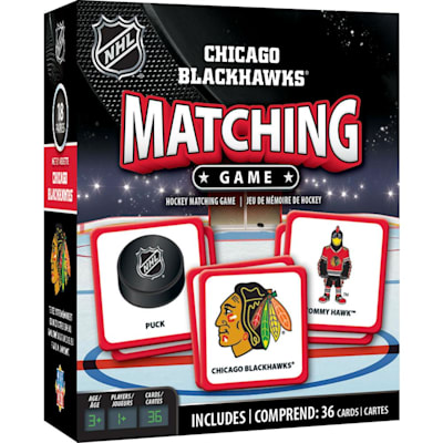 (MasterPieces Matching Game- Chicago Blackhawks)
