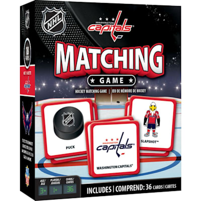 (MasterPieces Matching Game- Washington Capitals)