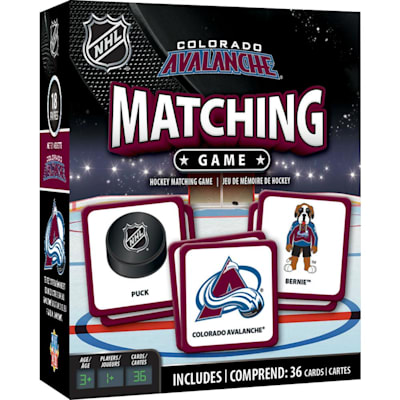(MasterPieces Matching Game - Colorado Avalanche)