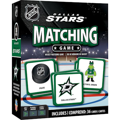 (MasterPieces Matching Game- Dallas Stars)