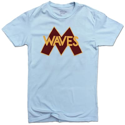 Front (Streaker Sports Minnesota Waves Gordon Bombay Player Tee - Adult)