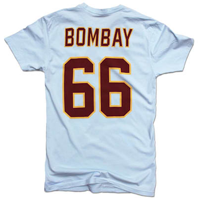 Back (Streaker Sports Minnesota Waves Gordon Bombay Player Tee - Adult)