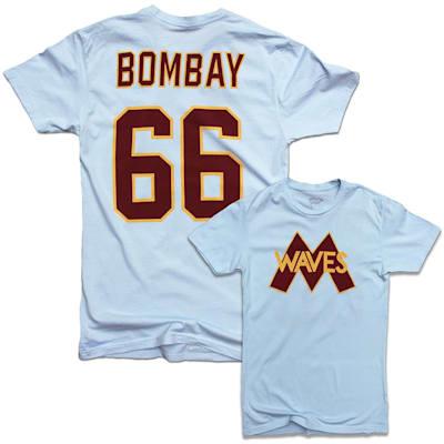 (Minnesota Waves Gordon Bombay Player Tee - Adult)