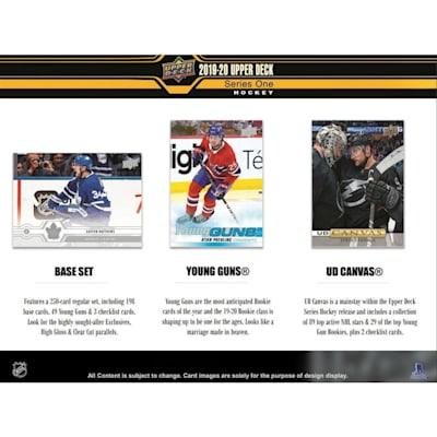 (2019-20 Upper Deck Series 1 Hockey Blaster Box)