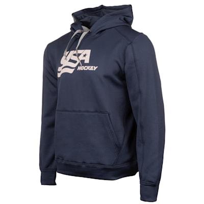 (USA Hockey Performance Hooded Sweatshirt - Youth)