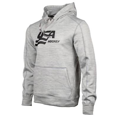 (USA Hockey Performance Hooded Sweatshirt - Adult)