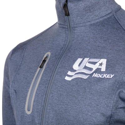 (USA Hockey 1/2 Zip - Adult)